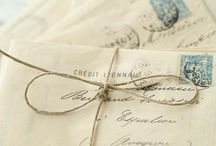 Letters and postcards
