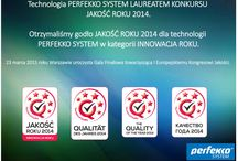 Jakość Roku 2015 w kategorii Innowacja dla Perfekko System :)