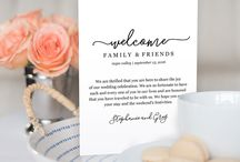 Itinerary booklet wedding