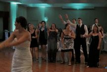 Bride Tossing the Bouquet...Epic Fail! / Now that is some wedding day fun you might be missing.