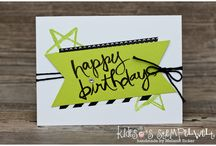 Stampin up Watercolor words