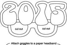Eyeglasses decorations