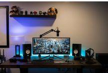 Pokój / Setup / Dream room / desk / workspace setup