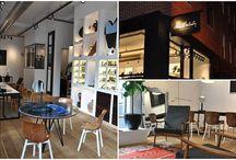 Magasins d'optique / Eyewear shops / #Decoration #design #amégement #merchandising #inspiration #conceptstore