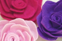 I'm crazy about making flowers of any kind! / by Rachel Loera