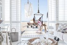 DECOR IDEAS || BEACH HOUSE INTERIORS DESIGN / Décor Ideas | Beach Decor | Nautical Decor | Coastal Decor | Beach House Décor | Beach Cottage Decor | Beach Theme Décor | Coastal Home Decor | Interior Décor | Interior Design |Architecture | Arquitectura | Studio Design.  #design #office #officedesign #render. See more projects like this at https://www.dzine.pt/