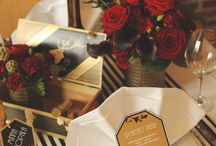 Wedding - J and J / Event design and inspiration for a wedding inspired by Lindy Hop, 1920s to 1950s fashion, Art Deco, Star Wars, Speakeasies, Geekery and Blade Runner.