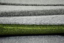 Dywany ręcznie wycinane / Dywany wykonane w technologii Heat Set z ręcznie wycinanymi elementami. Są ta tzw. dywany trójwymiarowe. Technika ta stosowana jest często przy dywanach nowoczesnych, ale także przy dywanach dla dzieci.