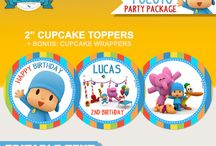 Pocoyo Party Ideas