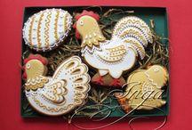 Honey Cookies - пряники