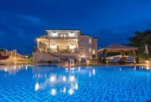 Villa Frido #Zakynthos #Greece #Island / Villa Frido is a luxury villa situated on top of a green hill, surrounded by olive groves with panoramic view of Akrotiri Zakynthos, an area of the community of Bochali, a suburb of the city of Zakynthos. http://www.mygreek-villa.com/rent-villa-search/villa-frido