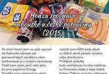 Honza srovnává rakouské a české potraviny (2015) / Po třech letech jsem se opět rozhodl pro malé srovnání rakouských a českých potravin. Změnilo se něco? Nebo jsme dále popelnicí Evropy?