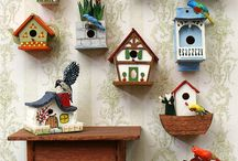 casitas de pájaros