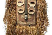 Masks-etnographic