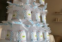 Baby shower glass tower