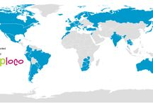 Around the world / Countries visited
