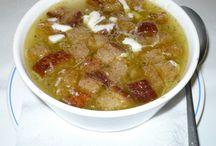 polievky a zdravé jedlá