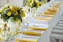 Yellow Grey and White theme