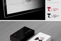 Moodboard TV-CATS / Exercice PInterest du BRAND BOOK