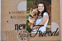 My Mind's Eye Kraft Funday layouts / A My Mind's Eye Kraft Funday kollekciója a vidám napokról szóló scrapbookozásról szól. A kétféle színpalettában elkészült kollekció barnás színű változata, az Everyday Fun, a mindennapi mókás történetek megörökítéséhez. Megvásárolható a Scrapbook Webáruházban: http://www.webaruhaz.scrapbook.hu/201-everyday-fun. A színes változat pedig a boldog napokról szóló történetek megörökítéséhez:  http://webaruhaz.scrapbook.hu/202-happy-days