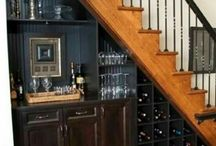 under stairs bar