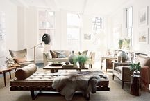 Interiors / Inspiration for inside your home. / by Monica L. Shulman
