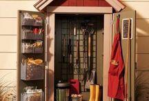 Garden storage units