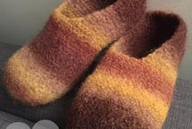 Felting slipper's