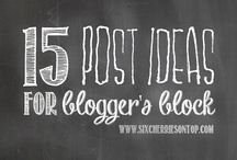 Blogging 101 / by BlissDom