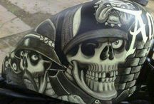 Motorcycles tanks