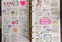 kawaii journals