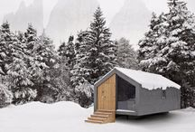 CABINS, SUMMER &LAKE HOUSES / homes for the holidays