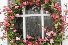 květnové věnce