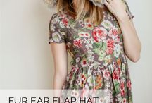 Women's Clothes/Accessories - Free Patterns / by Tangible Pursuits
