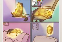 Bande dessinée de chat