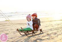 Christmas beach photoshoot