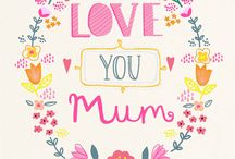 Illustration - Mothers Day / A Mothers Day inspiration board for surface pattern design and illustration.