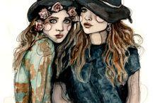 drawings and illustrations / by Katia Rog