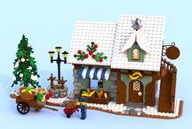 winter village ideas