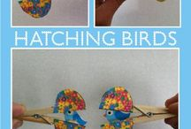 Birds crafts
