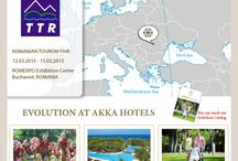 AKKA Hotels in Tourism Fairs / Visit AKKA Hotels stands in Tourism Fairs