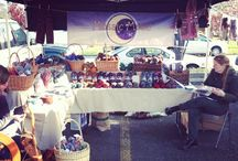 Growers Market and Fiber Festivals / Photo's from the shows we are doing!