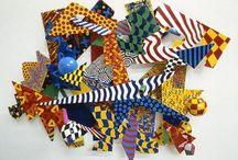abstracte vormen herhalen