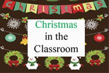 Christmas in the Classroom / Christmas ideas for your classroom. / by Tree Top Secret Education