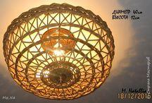 Плетение-Абажуры, светильники