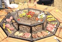 barbecue table exterieur