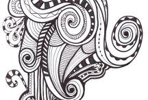Doodles and Zentangles / by Ginger Garten