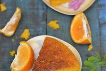 Eggless Lemon Custard cake