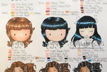 Skin colours