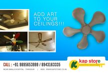 DESIGNER FANS / We give you an unusual opportunity to have a close view of preciously befitting materials for your sweet homes. It's a unique experience ! The discerning housewives will have a virtual experience to see how their homes are furnished. Kap Store will expand its space with more products to display to make it a one stop shop for all your home needs.